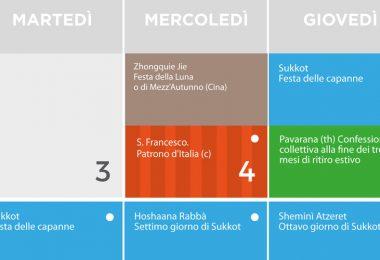 calendario del dialogo